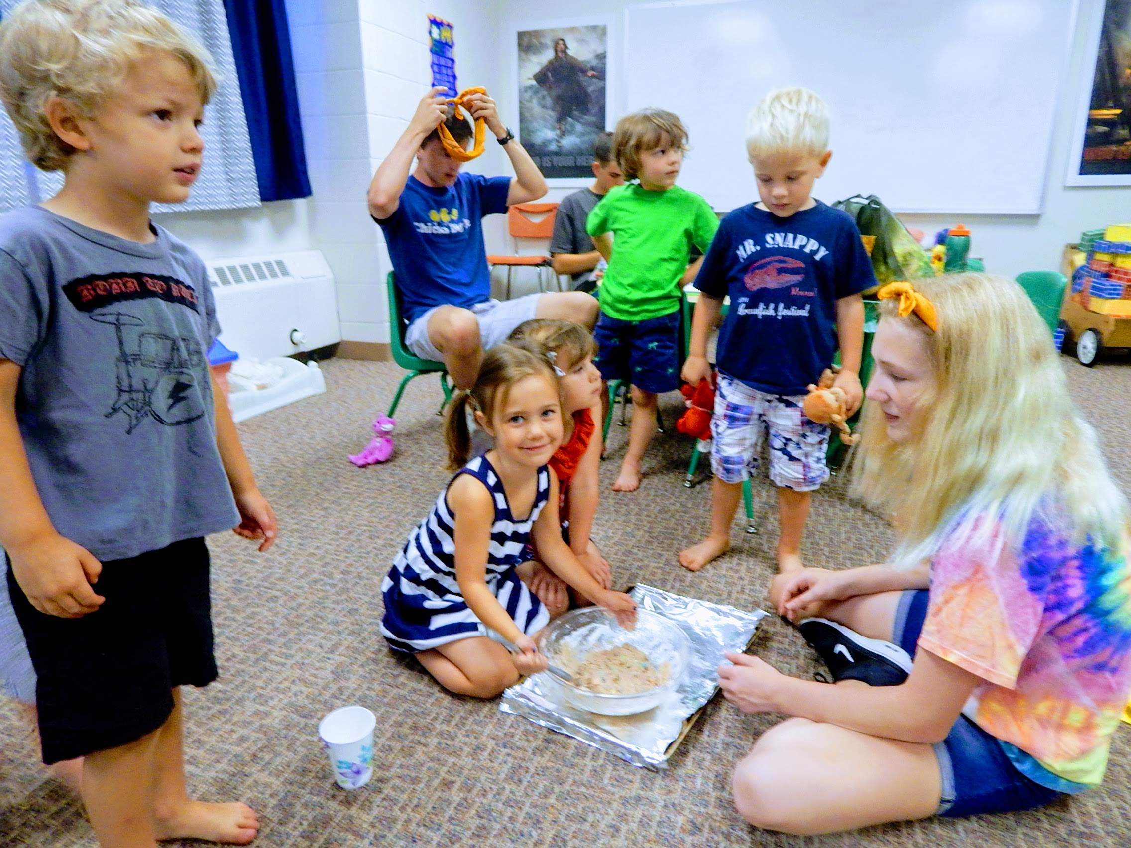 Preschool Three Four Year Olds First Congregational Church Of